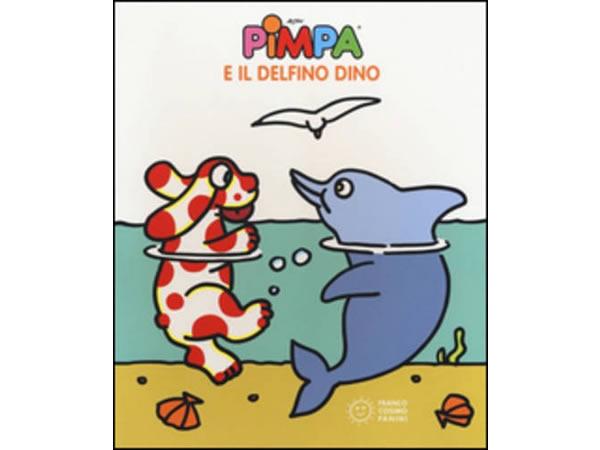 画像1: イタリア語で絵本、ピンパを読む Pimpa e il delfino Dino 対象年齢3歳以上【A1】