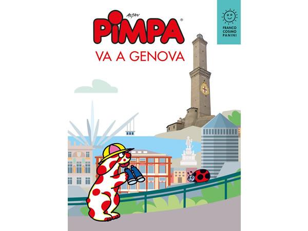 画像1: イタリア語で絵本を読む ピンパ、ジェノヴァへ行く Pimpa va a Genova 対象年齢6歳以上【A1】