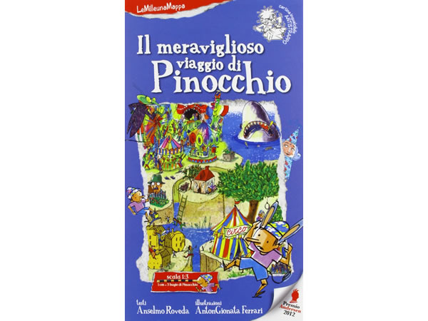 画像1: イタリア語 絵本マップ カルロ・コッローディの「ピノッキオの冒険」を読む 対象年齢5歳以上【A1】