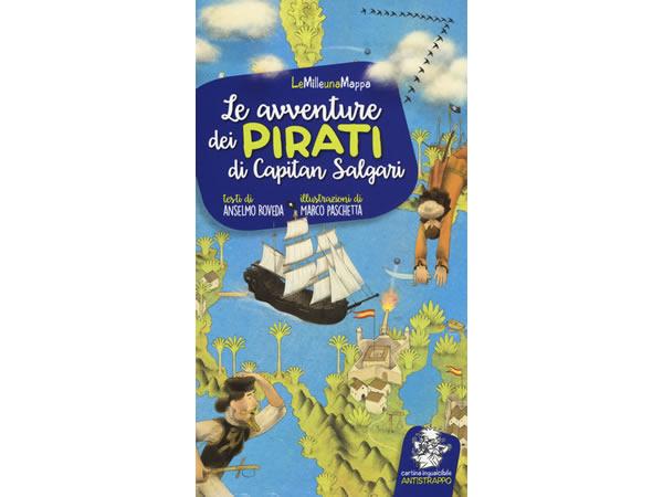 画像1: イタリア語 絵本マップ エミリオ・サルガーリの「Le avventure dei pirati di Capitan Salgari」を読む 対象年齢5歳以上【A1】