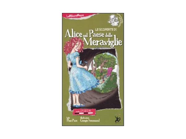 画像1: イタリア語 絵本マップ 「不思議の国のアリス」を読む 対象年齢5歳以上【A1】
