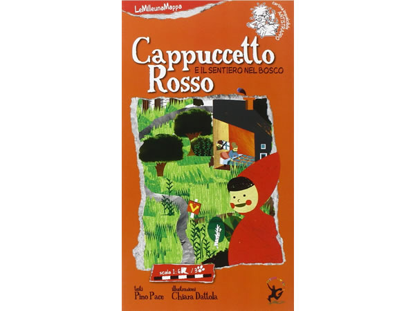 画像1: イタリア語 絵本マップ 「赤ずきん」を読む 対象年齢5歳以上【A1】