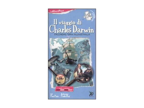 画像1: イタリア語 絵本マップ 「チャールズ・ダーウィン」を読む 対象年齢5歳以上【A1】