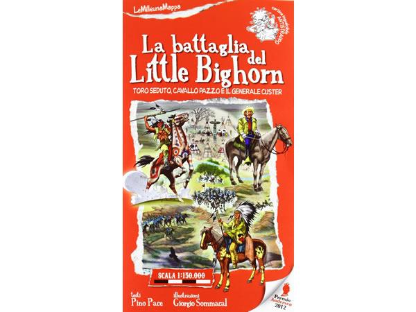 画像1: イタリア語 絵本マップ 「壮烈第七騎兵隊」を読む 対象年齢5歳以上【A1】