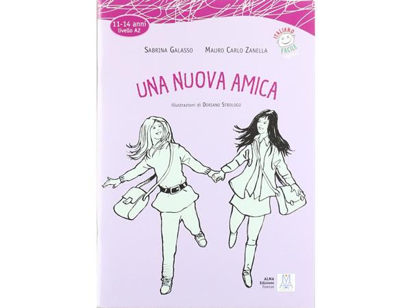 画像1: CD付き 11-14歳向けテキスト 新しい友だち イタリア語【A2】