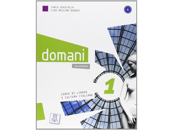 画像1: ベーシック イタリア語 Domani A1. DVD付き授業用教科書、教師用指導書 PLIDA認定教材【B1】