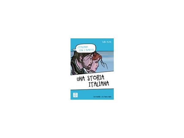 画像1: 漫画で学ぶ、イタリア語 問題集 Una storia italiana 【A1】【A2】