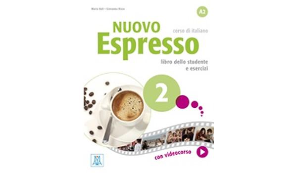 画像1: イタリア語を勉強しよう Nuovo Espresso 2 DVD ROM付き教科書、問題集、文法テキスト 【A2】