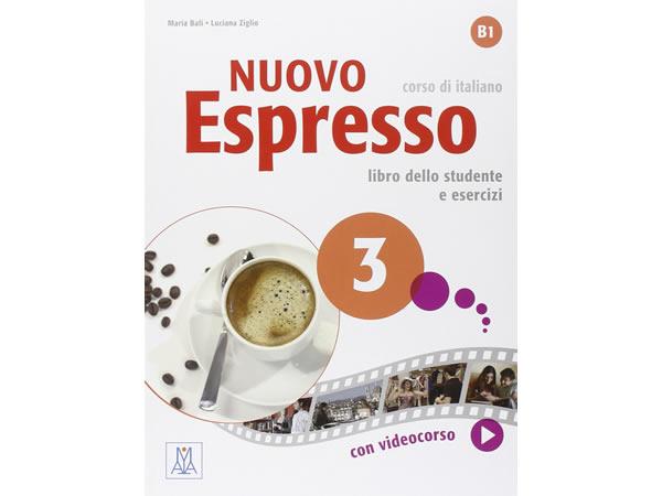 画像1: イタリア語を勉強しよう Nuovo Espresso 3 DVD ROM付き教科書、文法テキスト 【B1】