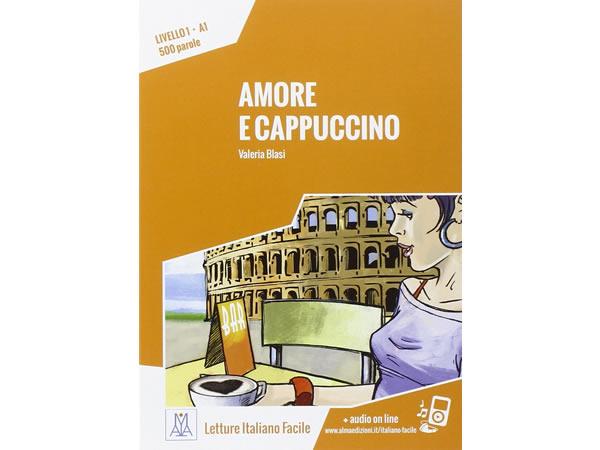 画像1: オーディオ付き ストーリーにそって学ぶ単語500 Amore e cappuccino イタリア語【A1】