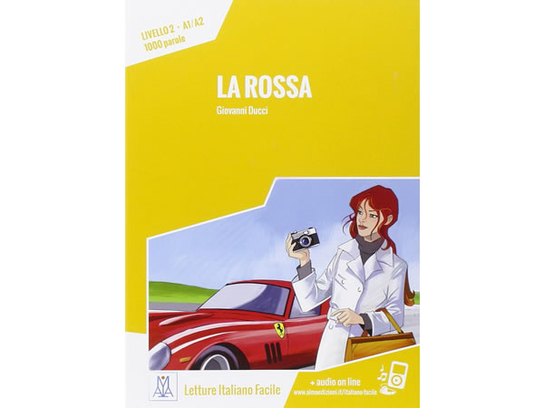画像1: オーディオ付き ストーリーにそって学ぶ単語1000 La rossa イタリア語【A1】【A2】