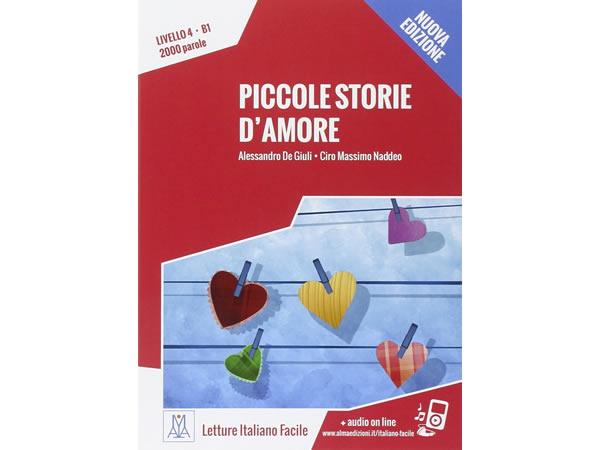 画像1: オーディオ付き ストーリーにそって学ぶ単語2000 Piccole storie d'amore イタリア語【B1】