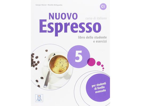 画像1: イタリア語を勉強しよう Nuovo Espresso 5 DVD ROM付き教科書&問題集 【C1】