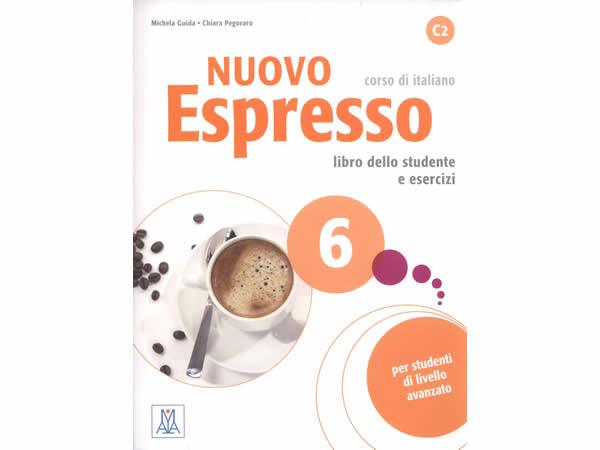 画像1: イタリア語を勉強しよう Nuovo Espresso 6 CD付き教科書&問題集 【C1】