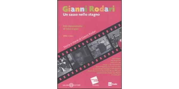 画像1: イタリアの児童文学作家ジャンニ・ロダーリの人生を振り返る「Gianni Rodari. Un sasso nello stagno. DVD. Con libro」本&DVD 【A1】【A2】【B1】【B2】