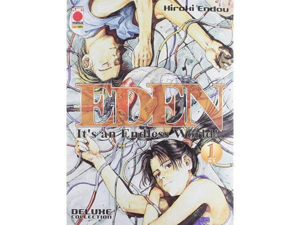 画像1: イタリア語で読む、遠藤浩輝の「EDEN 〜It's an Endless World!〜」1巻-9巻 【B1】