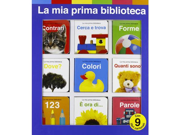 画像1: イタリア語で絵本集「La mia prima biblioteca」を読む 9冊セット 対象年齢1歳以上【A1】