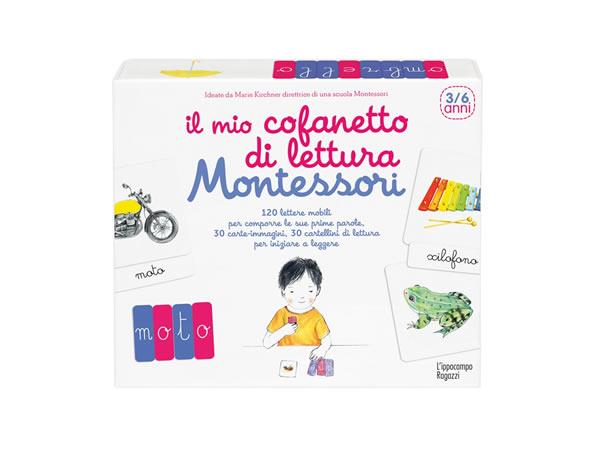 画像1: モンテッソーリ 知恵玩具 イタリア語カードセット 対象年齢3歳以上【A1】