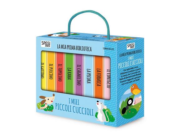 画像1: イタリア語で絵本集「I miei piccoli cuccioli 小動物」を読む 8冊セット 対象年齢1歳以上【A1】