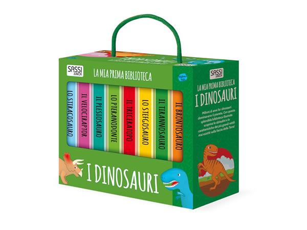 画像1: イタリア語で絵本集「I dinosauri 恐竜」を読む 8冊セット 対象年齢1歳以上【A1】