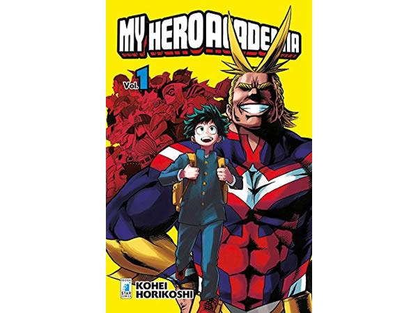 画像1: イタリア語で読む、堀越耕平の「僕のヒーローアカデミア」1巻-15巻 【B1】【B2】
