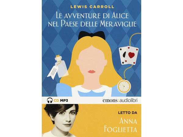 画像1: イタリア語オーディオブック「不思議の国のアリス Alice nel paese delle meraviglie letto da Anna 」【B1】