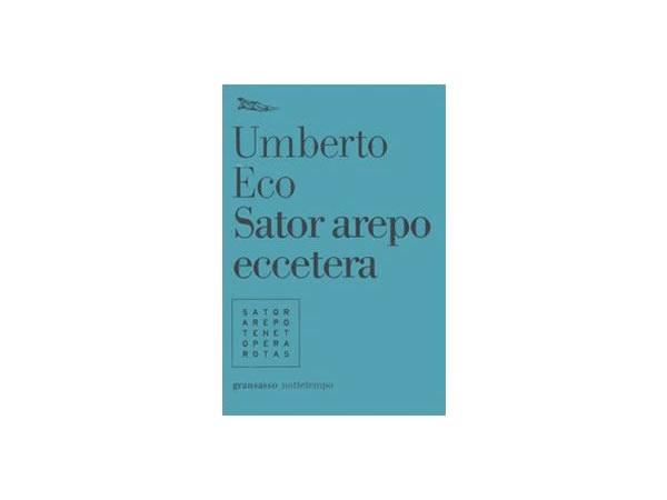 画像1: イタリアの作家ウンベルト・エーコの「Sator arepo eccetera」 【C1】【C2】