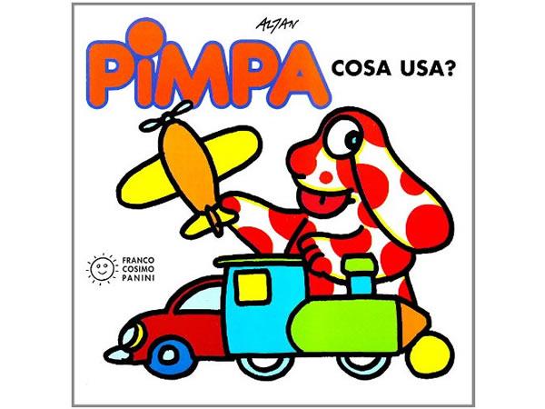 画像1: イタリア語で絵本、ピンパを読む Pimpa: cosa usa? 対象年齢3歳以上【A1】