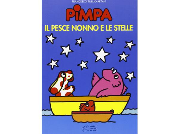 画像1: イタリア語で絵本、ピンパを読む Pimpa, il pesce nonno e le stelle 対象年齢5歳以上【A1】