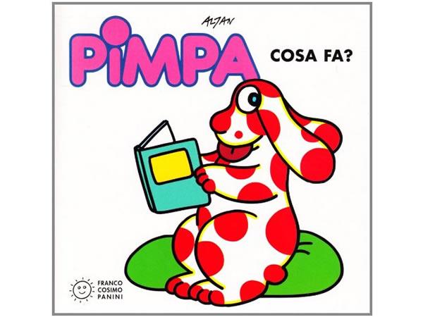 画像1: イタリア語で絵本、ピンパを読む Pimpa cosa fa? 対象年齢3歳以上【A1】