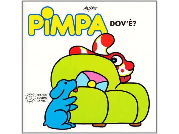 画像1: イタリア語で絵本、ピンパを読む Pimpa dov'e'? 対象年齢3歳以上【A1】