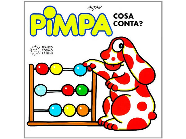 画像1: イタリア語で絵本、ピンパを読む Pimpa cosa conta? 対象年齢3歳以上【A1】