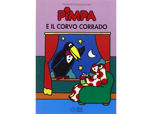 画像1: イタリア語で絵本、ピンパを読む Pimpa e il corvo Corrado 対象年齢5歳以上【A1】