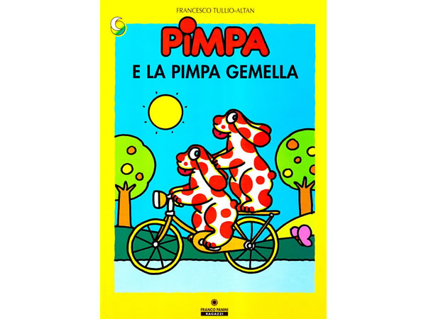 画像1: イタリア語で絵本、ピンパを読む Pimpa e la Pimpa gemella 対象年齢3歳以上【A1】