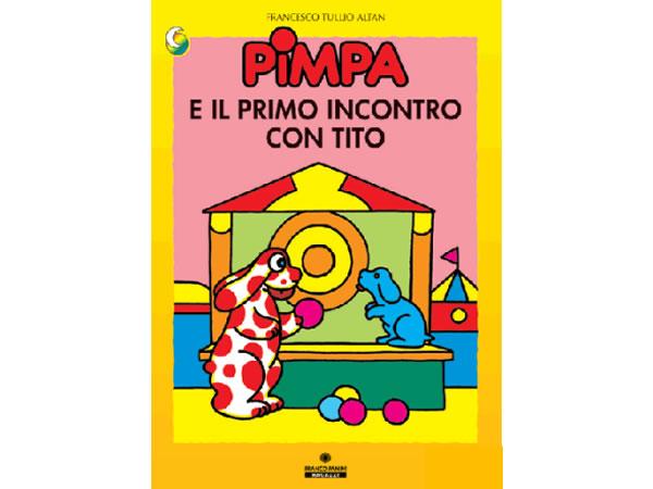 画像1: イタリア語で絵本、ピンパを読む Pimpa e primo incontro con Tito 対象年齢3歳以上【A1】