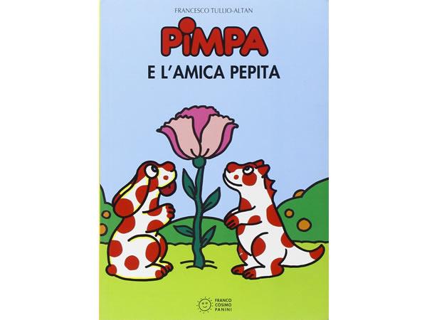 画像1: イタリア語で絵本、ピンパを読む Pimpa e l'amica Pepita 対象年齢5歳以上【A1】