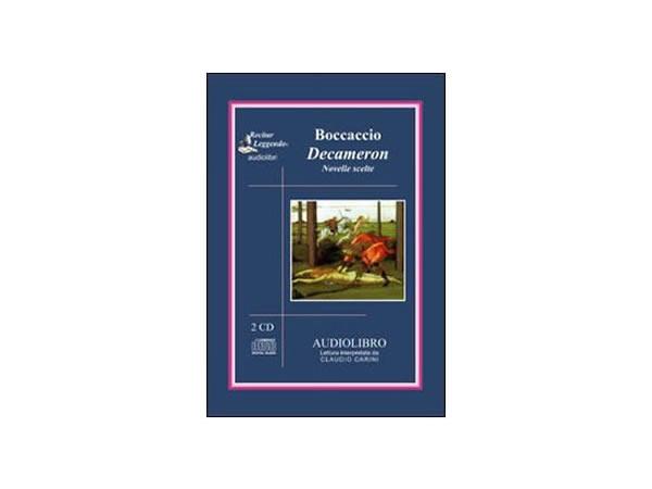 画像1: CD オーディオブック ジョヴァンニ・ボッカッチョの「デカメロン」から  【B1】【B2】【C1】