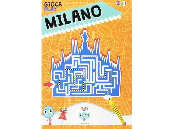 画像1: イタリア語、英語で 遊ぶマップを読む 「GIOCA MILANO」 対象年齢7歳以上【A1】