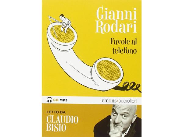 画像1: イタリアの児童文学作家ジャンニ・ロダーリのオーディオブック「Favole al telefono lette da Claudio Bisio」【B1】
