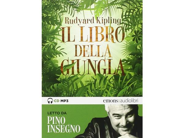 画像1: イタリア語オーディオブック「ジャングル・ブック Il libro della giungla letto da Pino Insegno」【B1】