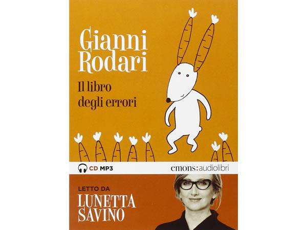 画像1: イタリアの児童文学作家ジャンニ・ロダーリのオーディオブック「Il libro degli errori letto da Lunetta Savino」【B1】