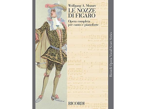 画像1: 楽譜 LE NOZZE DI FIGARO - Ricordi Opera Vocal Series - MOZART - RICORDI