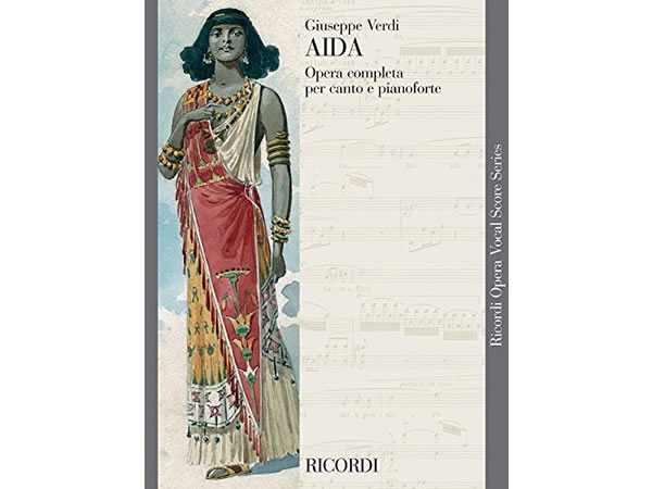 画像1: 楽譜 AIDA - Ricordi Opera Vocal Series - VERDI - RICORDI