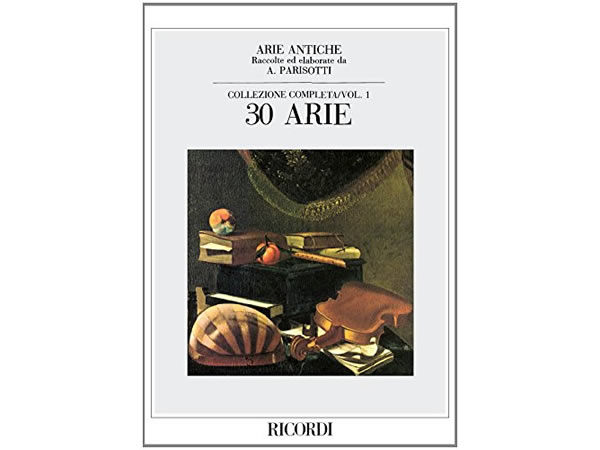 画像1: 楽譜 ARIE ANTICHE - COLLEZIONE COMPLETA VOL. 1 (30 ARIE) - RICORDI