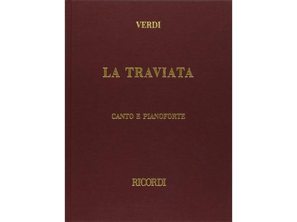 画像1: 楽譜 LA TRAVIATA - VERDI - CANTO E PIANOFORTE- RICORDI