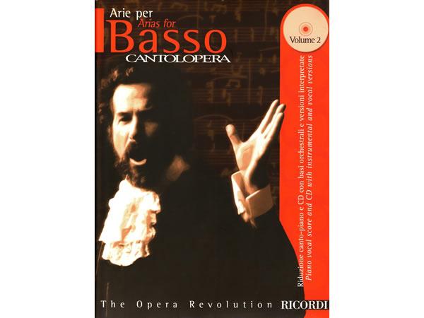 画像1: 楽譜 CANTOLOPERA: ARIE PER BASSO VOL. 2 - THE OPERA REVOLUTION CD付き - RICORDI