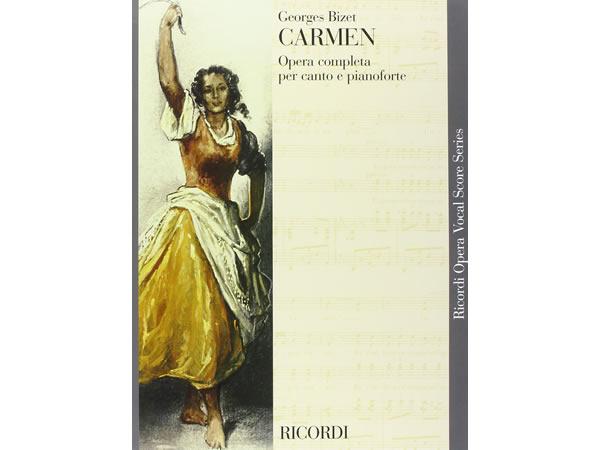 画像1: 楽譜 CARMEN - Ricordi Opera Vocal Series - BIZET - RICORDI