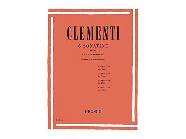 画像1: 楽譜 6 SONATINE OP. 36 - CLEMENTI - RICORDI