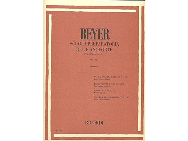 画像1: 楽譜 SCUOLA PREPARATORIA DEL PIANOFORTE OP. 101- PER GIOVANI ALLIEVI - BEYER - RICORDI