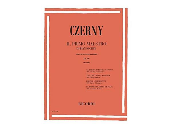 画像1: 楽譜 IL PRIMO MAESTRO DI PIANOFORTE - CZERNY - RICORDI